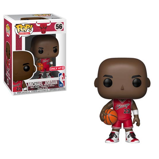 #056 - NBA - Chicago Bulls - Michael Jordan (rookie uniform) | Popito.fr