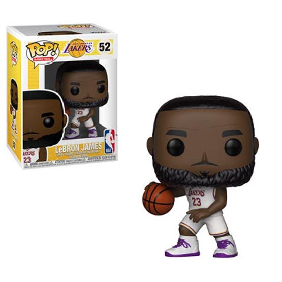 #052 - NBA - Los Angeles Lakers - LeBron James | Popito.fr