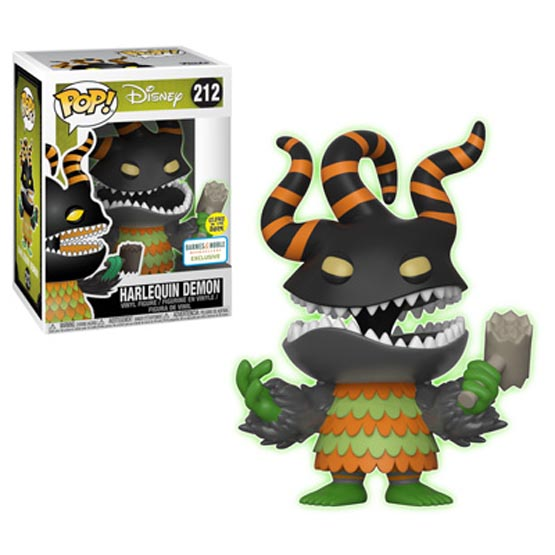 #212 - The Nightmare Before Christmas - Harlequin Demon (glow in the dark) | Popito.fr