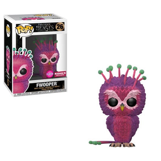 #026 - Fantastic Beasts and Where to Find Them - Fwooper (flocked) | Popito.fr