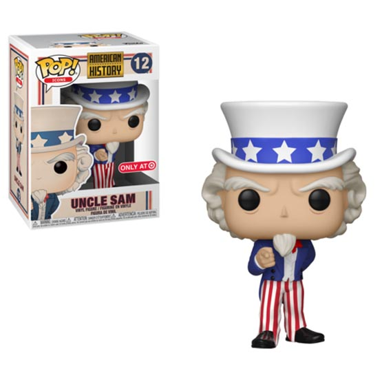 #012 - American History - Uncle Sam | Popito.fr