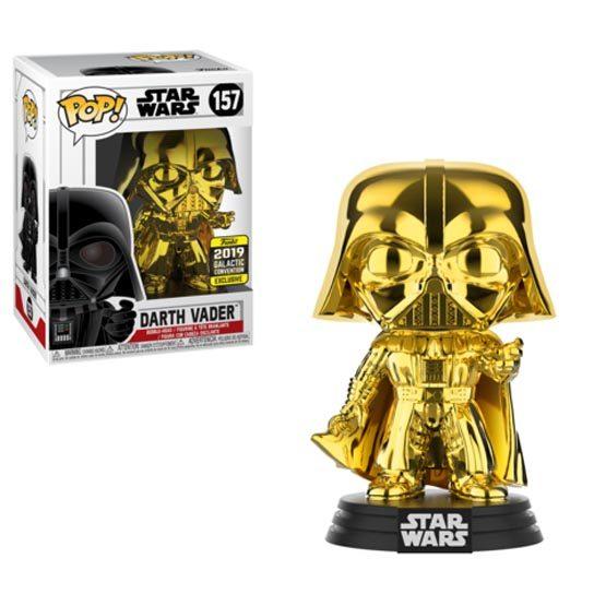 #157 - Darth Vader (gold) | Popito.fr