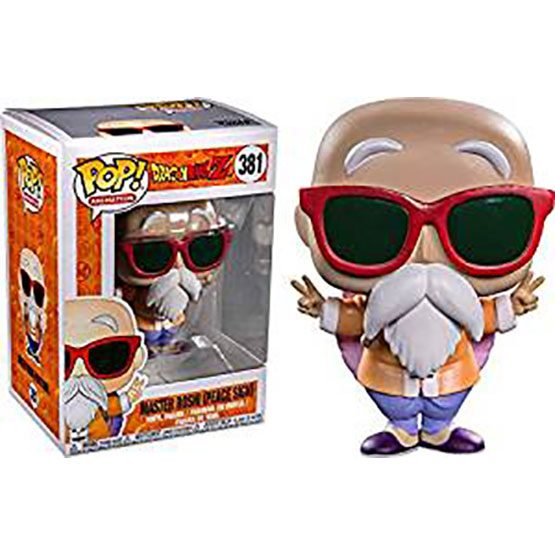 #381 - Dragon Ball Z - Master Roshi (peace sign) | Popito.fr