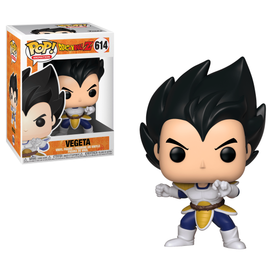 #614 - Dragon Ball Z - Vegeta | Popito.fr