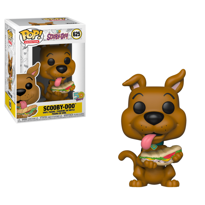#625 - Scooby-Doo - Scooby-Doo with sandwich | Popito.fr