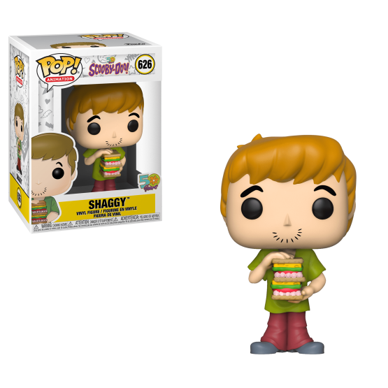 #626 - Scooby-Doo - Shaggy with sandwich | Popito.fr