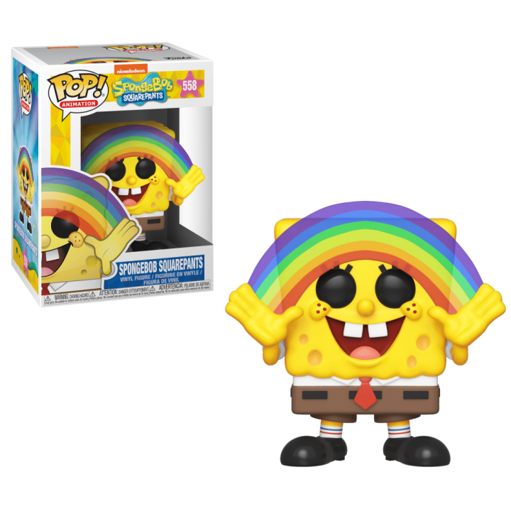 #558 - SpongeBob SquarePants - SpongeBob SquarePants (rainbow) | Popito.fr