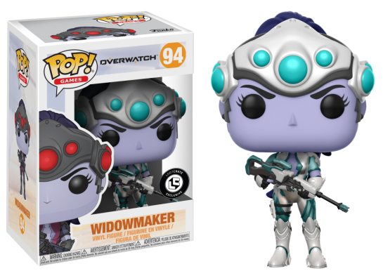 #094 - Overwatch - Widowmaker (winter) | Popito.fr