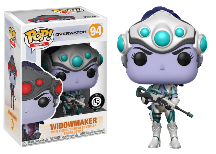 #094 - Overwatch - Widowmaker (winter) | Popito.fr