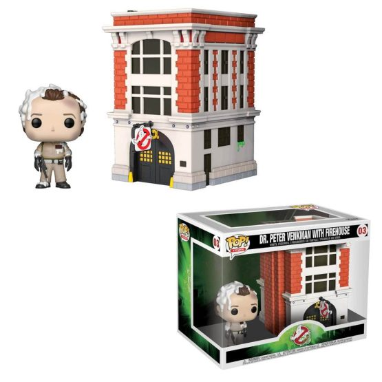 #003 - Ghostbusters - Dr Peter Venkman with Firehouse | Popito.fr