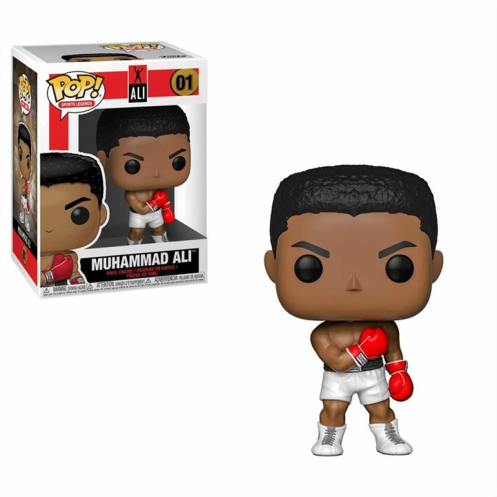 #001 - Sports Legends - Muhammad Ali | Popito.fr