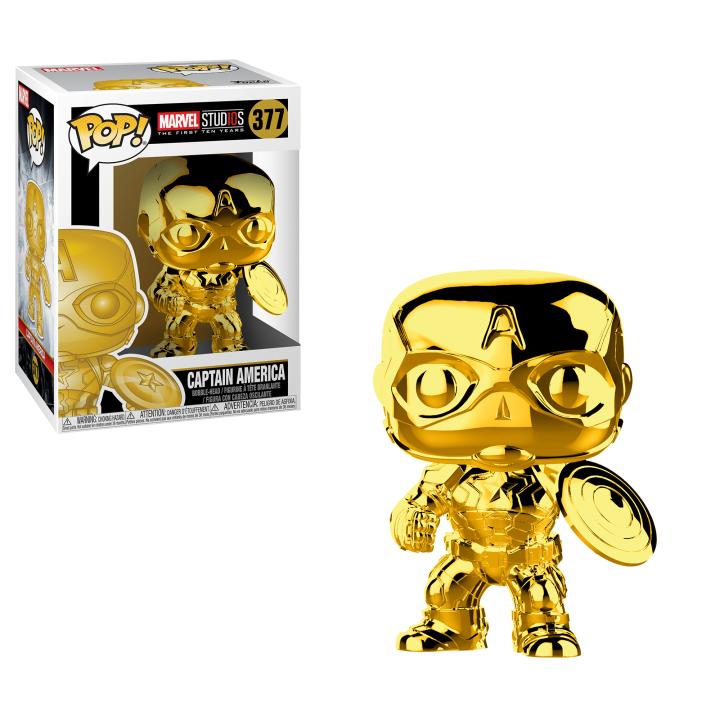#377 - Captain America (gold) | Popito.fr