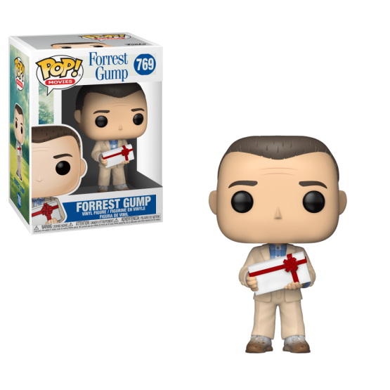 #769 - Forrest Gump - Forrest Gump with chocolates | Popito.fr