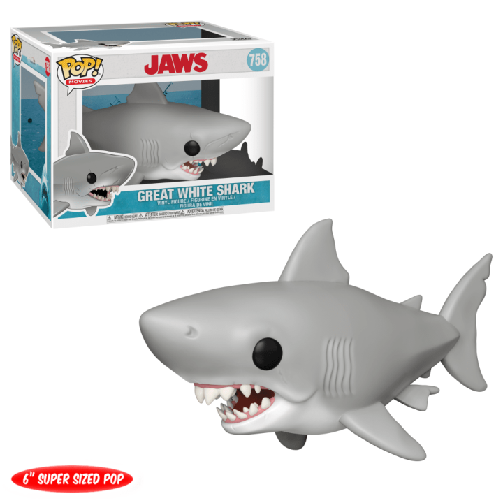#758 - Jaws - Great White Shark | Popito.fr