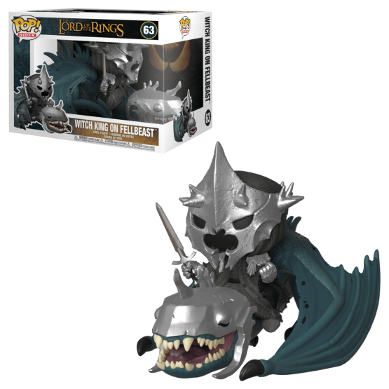 #063 - The Lord of the Rings - Witch King on Fellbeast   Popito.fr