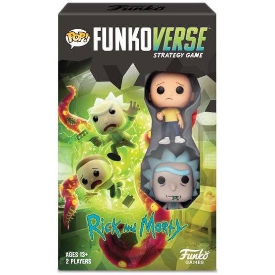 #100 - Funkoverse Rick and Morty - Expandalone (VF) | Popito.fr