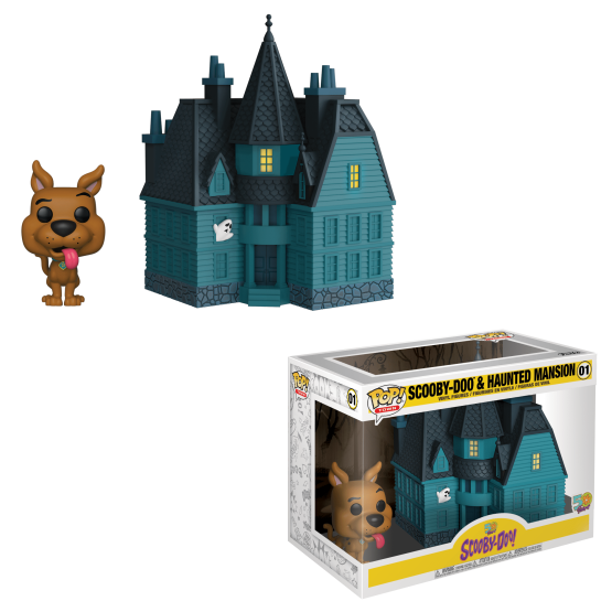 #001 - Scooby-Doo - Scooby-Doo and Haunted Mansion | Popito.fr