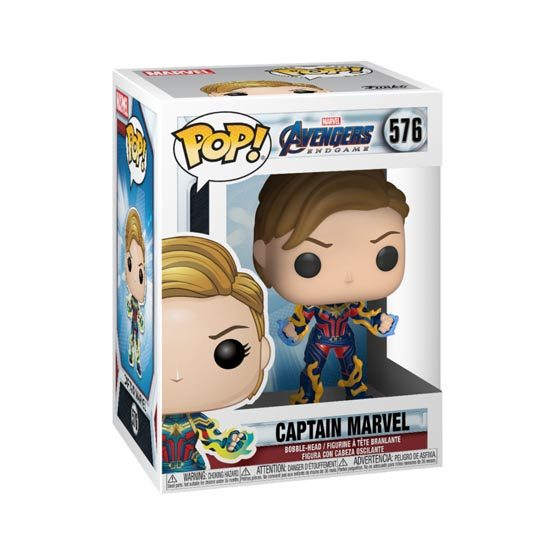 #576 - Avengers: Endgame - Captain Marvel (short hair) | Popito.fr