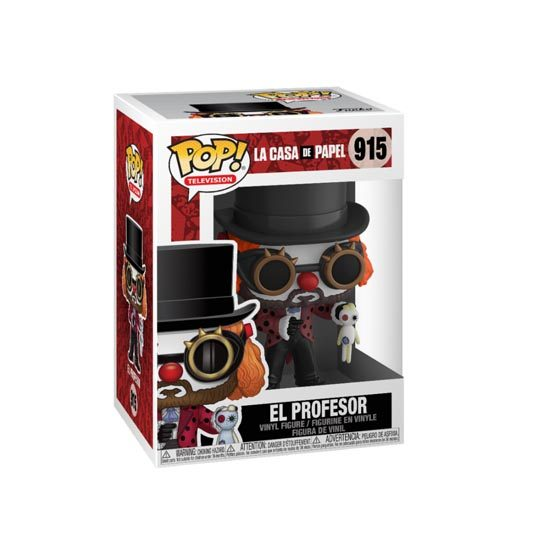 #915 - La Casa de Papel - El Profesor (clown) | Popito.fr
