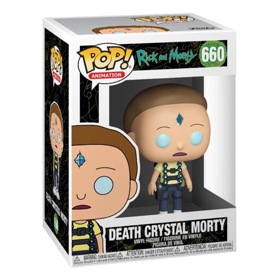 #660 - Rick and Morty - Death Crystal Morty | Popito.fr