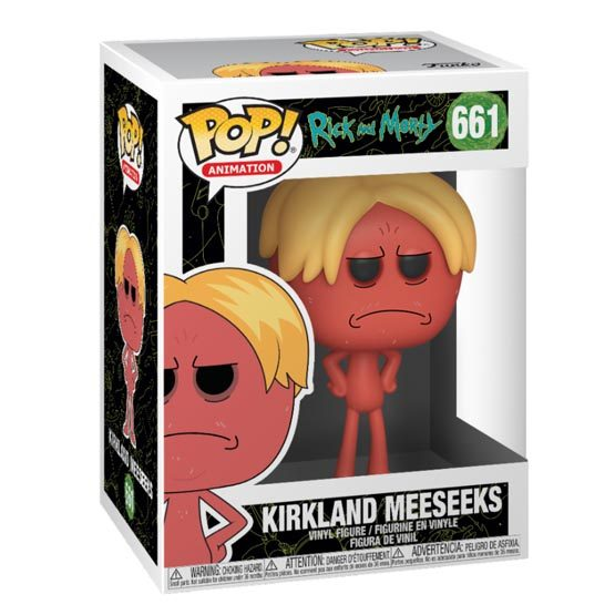 #661 - Rick and Morty - Kirkland Meeseeks | Popito.fr