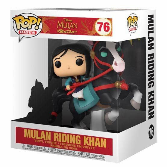 #076 - Mulan - Mulan riding Khan | Popito.fr
