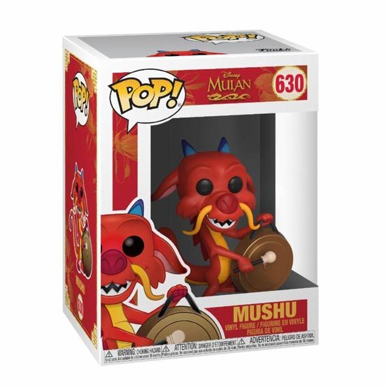 #630 - Mulan - Mushu with gong | Popito.fr