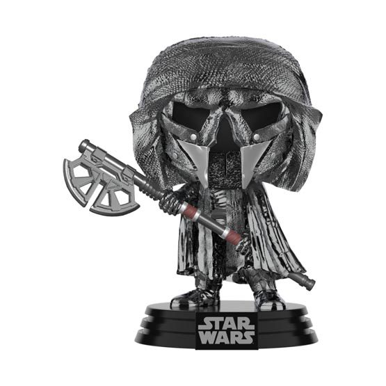 #XXX - The Rise of Skywalker (épisode 9) - Knight of Ren (axe) (hematite chrome) | Popito.fr