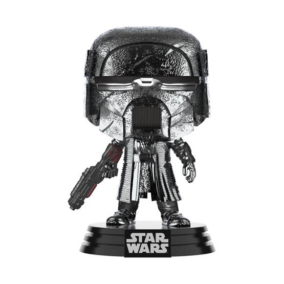 #XXX - The Rise of Skywalker (épisode 9) - Knight of Ren (blaster) (hematite chrome) | Popito.fr