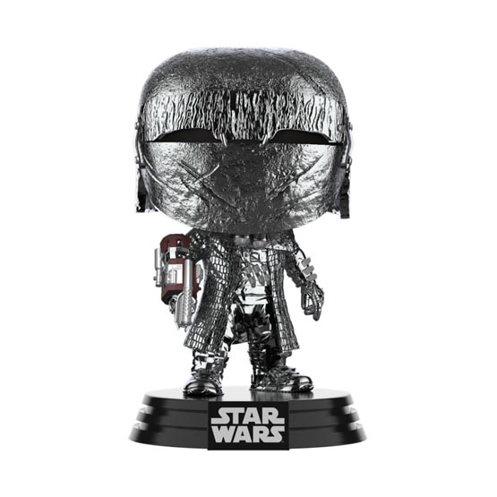 #XXX - The Rise of Skywalker (épisode 9) - Knight of Ren (cannon) (hematite chrome) | Popito.fr