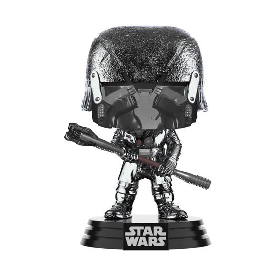 #XXX - The Rise of Skywalker (épisode 9) - Knight of Ren (club) (hematite chrome) | Popito.fr