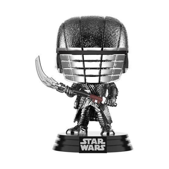 #XXX - The Rise of Skywalker (épisode 9) - Knight of Ren (scythe) (hematite chrome) | Popito.fr