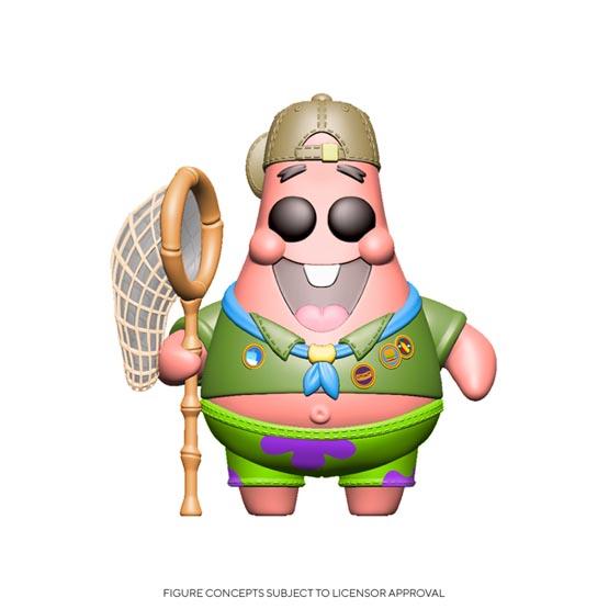 #XXX - SpongeBob SquarePants - Patrick Star in camping gear | Popito.fr