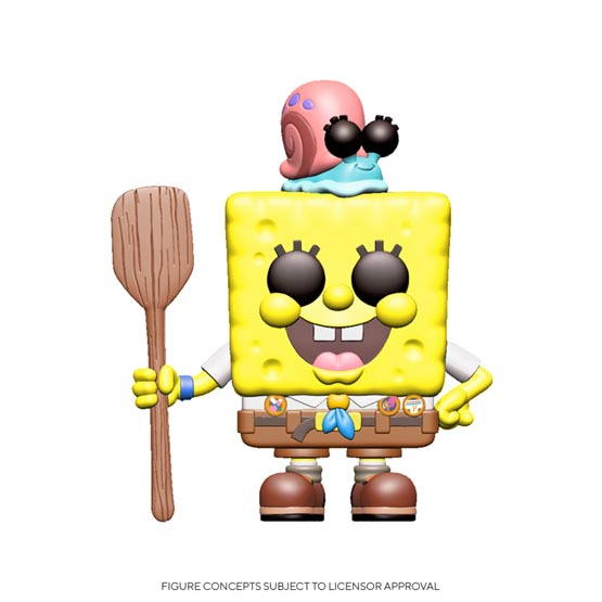 #XXX - SpongeBob SquarePants - SpongeBob SquarePants in camping gear | Popito.fr