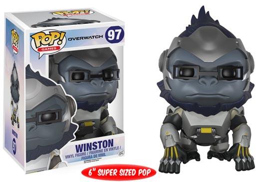 #097 - Overwatch - Winston | Popito.fr