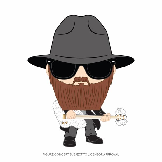 #XXX - ZZ Top - Billy Gibbons | Popito.fr