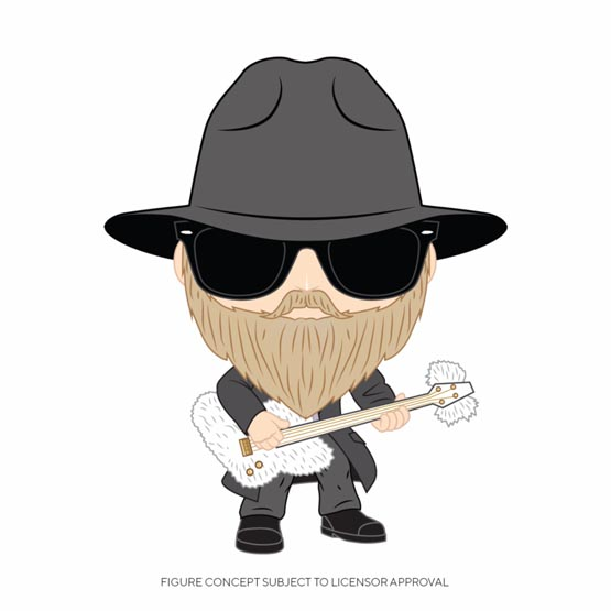 #XXX - ZZ Top - Dusty Hill | Popito.fr