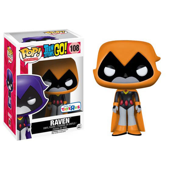 #108 - Teen Titans Go! - Raven (orange) | Popito.fr
