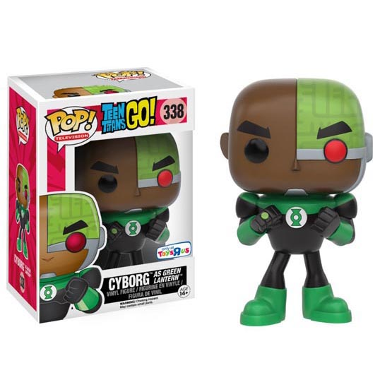 #338 - Teen Titans Go! - Cyborg as Green Lantern | Popito.fr
