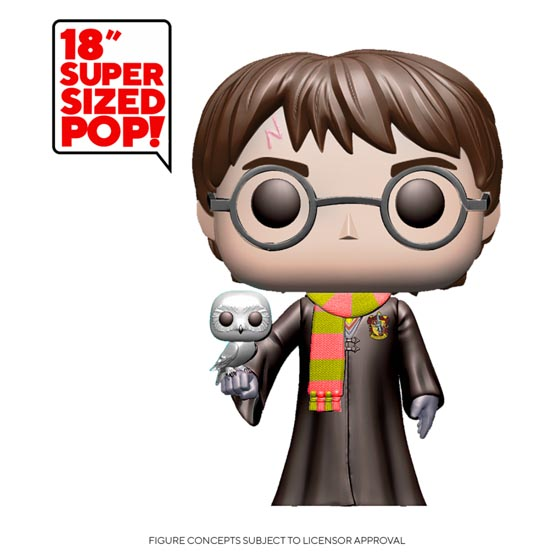 #XXX - Harry Potter with Hedwige (super-sized) | Popito.fr