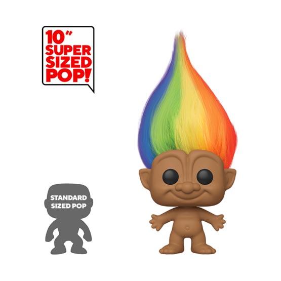 #009 - Trolls - Good Luck Trolls - Rainbow Troll (giant) (Chase 1/6) | Popito.fr