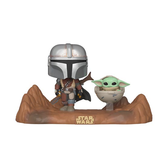 #390 - The Mandalorian - The Mandalorian with The Child (Baby Yoda) | Popito.fr