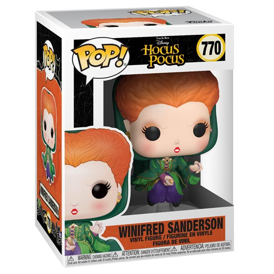 #770 - Hocus Pocus - Winifred Sanderson (flying) | Popito.fr