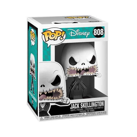 #808 - The Nightmare Before Christmas - Jack Skellington (scary face) | Popito.fr