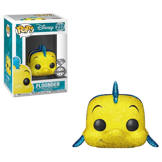 #237 - The Little Mermaid - Flounder (diamond) | Popito.fr