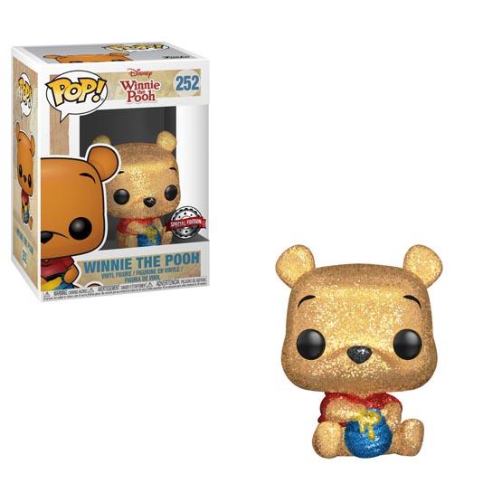#252 - Winnie the Pooh - Winnie the Pooh (seated) (diamond)   Popito.fr