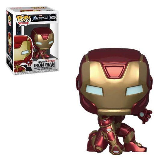 #626 - Marvel s Avengers - Iron Man (Stark Tech suit) | Popito.fr