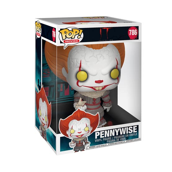 #786 - It - Pennywise (with boat) | Popito.fr