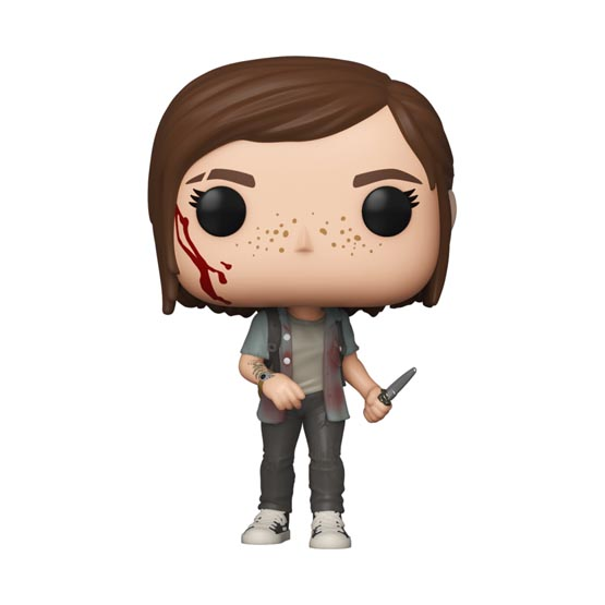 #601 - The Last of Us Part II - Ellie | Popito.fr