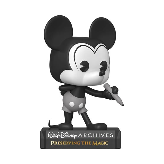 #797 - Disney Archives - Plane Crazy Mickey | Popito.fr